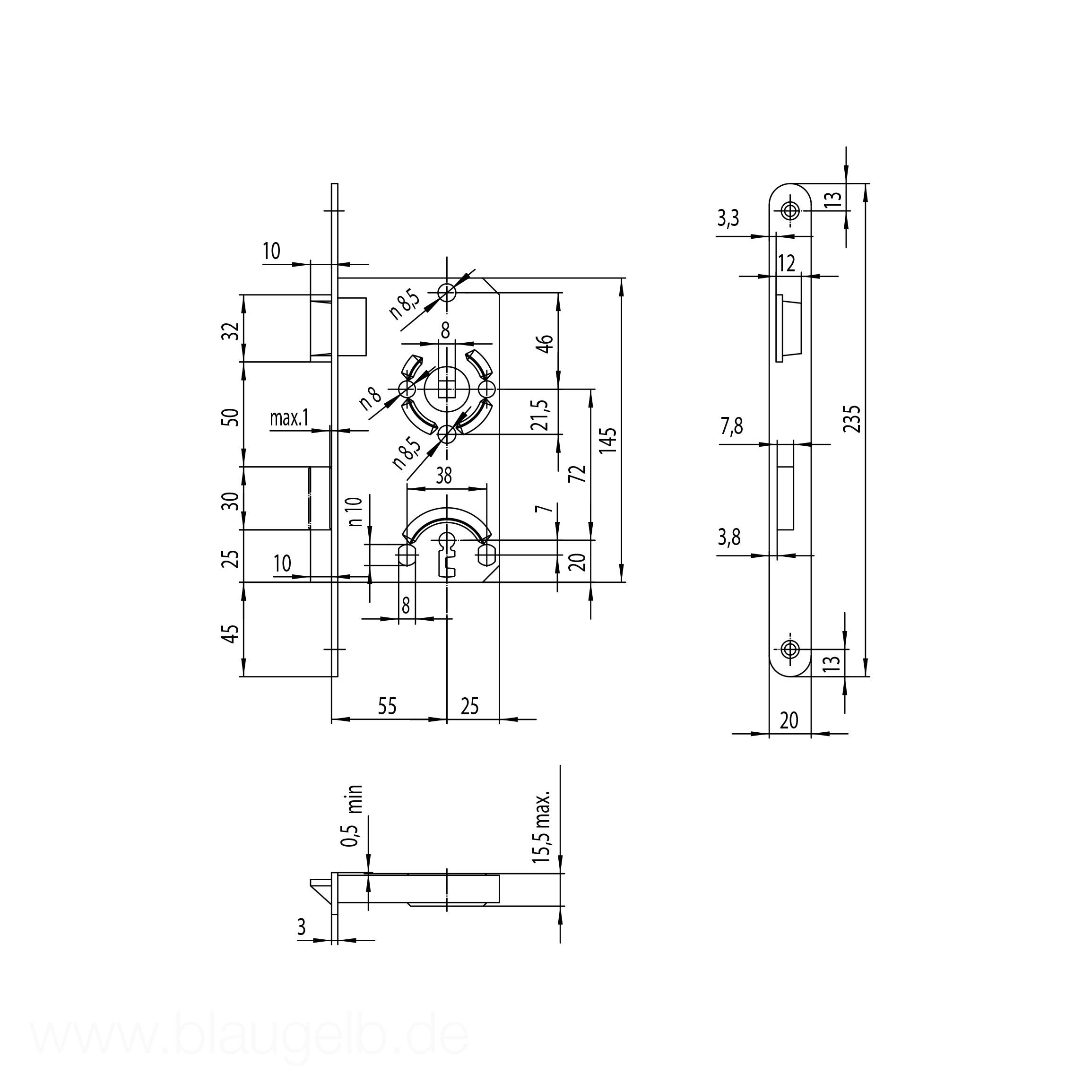blaugelb produktansicht. Black Bedroom Furniture Sets. Home Design Ideas